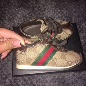Authentic Gucci toddler sneakers